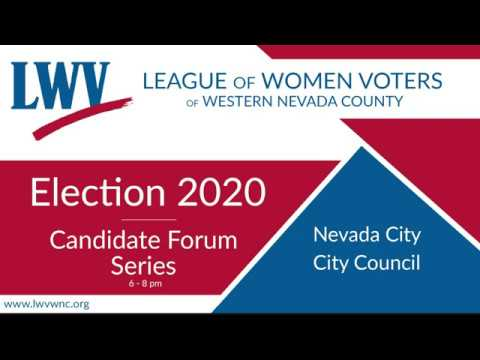 League of Women Voters Candidate Forum Series 1-27-2020 HD Version