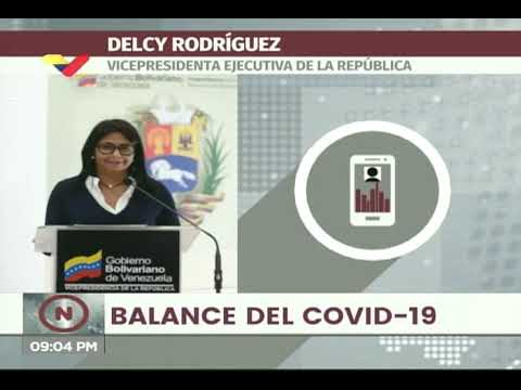 Reporte Coronavirus Venezuela, 25/07/2020: 666 casos y 4 fallecidos, reportó Delcy Rodríguez