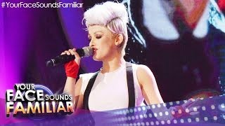"Your Face Sounds Familiar: KZ Tandingan as Pink - ""Just Give Me A Reason"""