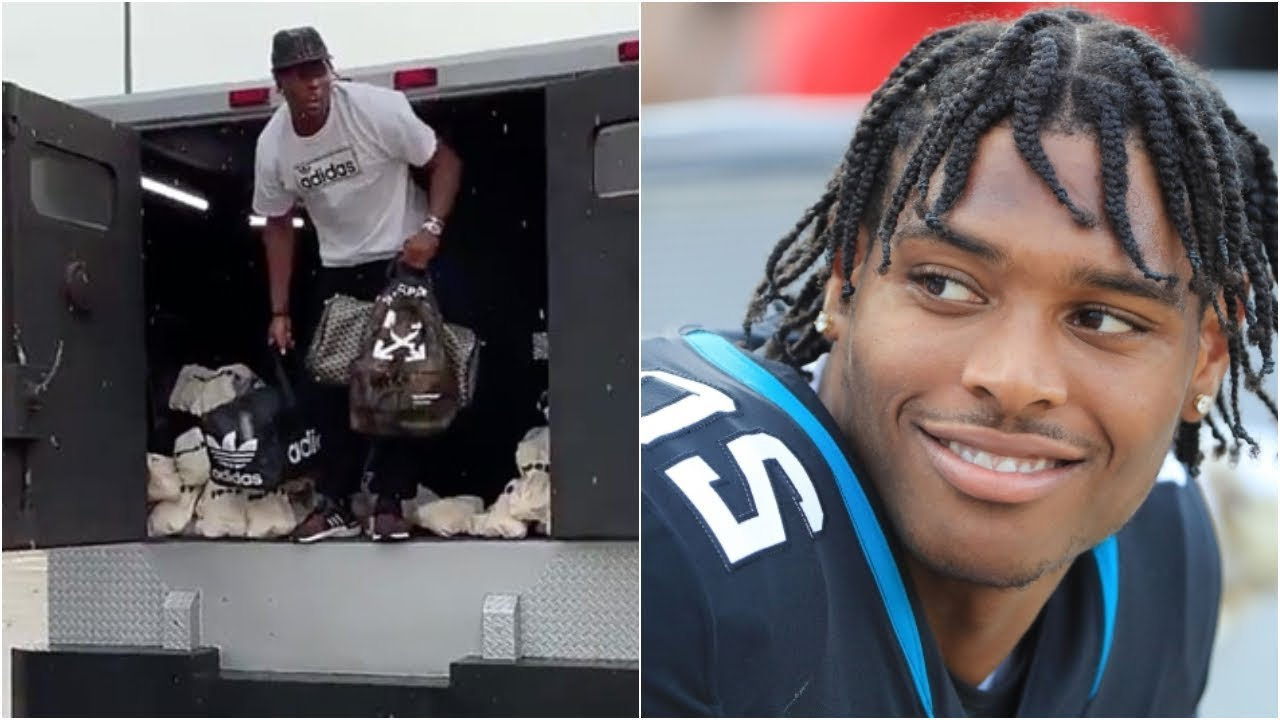 Jaguars star cornerback Jalen Ramsey arrives at training camp in an armored truck