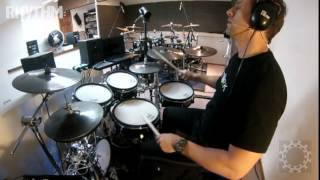 Thomas Lang Drumming Boot Camp lesson - Stone Killer foot exercise
