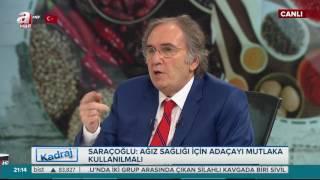 Prof. Dr. İbrahim Saraçoğlu: Ağız sağlığı için adaçayı mutlaka kullanılmalı