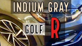 2018 Golf R Indium Gray Metallic