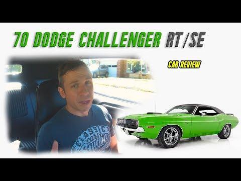 1970 Dodge Challenger RT/SE    Car Review