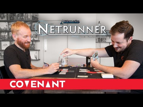 Learning Netrunner | Haas-Bioroid v. Shaper - Game One