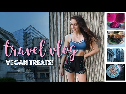 Vegan Treats Travel Vlog   Philadelphia, DC, Raleigh  Michelle Mills