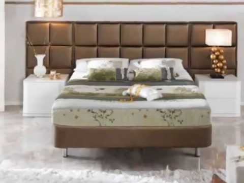 gepolsterte kopfteile elegante holzm bel f r ihr schlafzimmer youtube. Black Bedroom Furniture Sets. Home Design Ideas