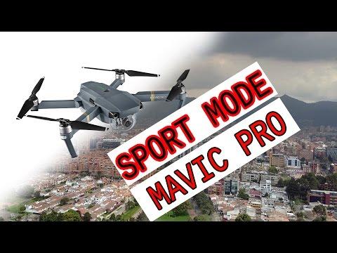 Mavic Pro, Sport Mode, Bogota Colombia