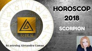 HOROSCOP 2018 - SCORPION - by Astrolog Alexandra Coman