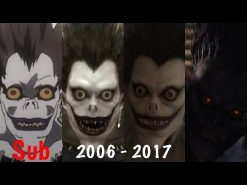 Download Evolution of Ryuk in Anime & Live Action (Sub)