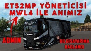 """TRUCKERSMP YÖNETİCİSİ """"MWL4"""" İLE OLAN ANIM"""