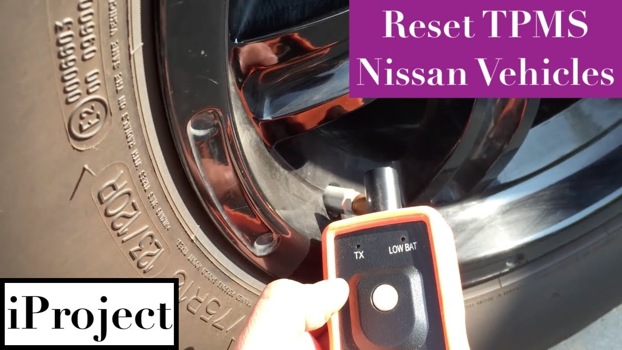 What Is Tpms Sensor >> Resetting TPMS for Nissan vehicles with universal tool ...