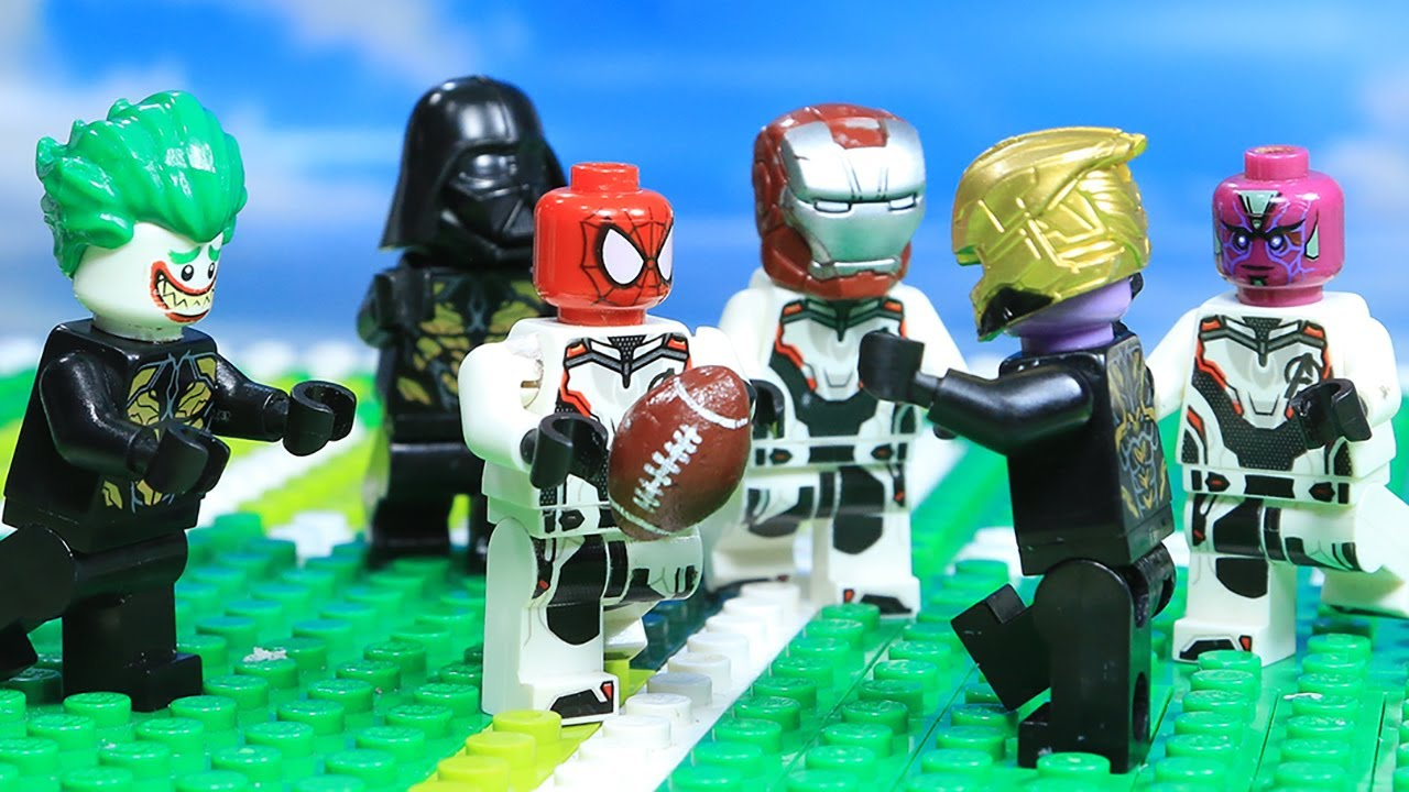 Lego Superhero Champion Ironman vs Batman Final Episode