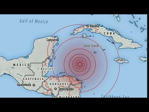 Massive 7.6 Magnitude Earthquake Strikes in the Caribbean: Tsunami Warnings Cancelled