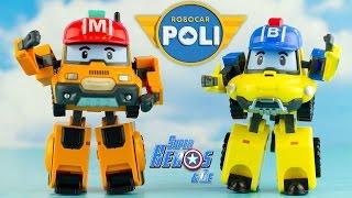 Nouveauté 2016 ROBOCAR POLI Mark Bucky Robots Transformables #français 4k 로보카폴리 #Jouet #Juguetes