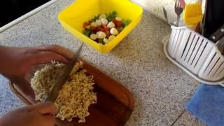 Доширак - салат