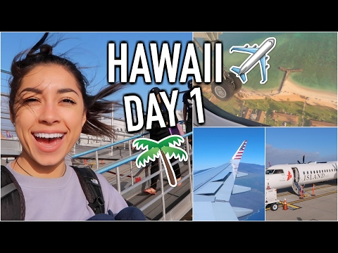 Traveling to Hawaii! HAWAII DAY 1 | Jeanine Amapola