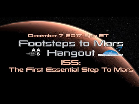 ISS: The First Essential Step to Mars