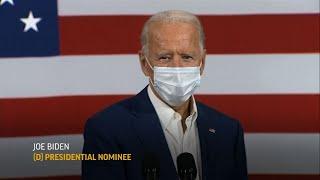 Biden attacks Trump on virus as new milestone nears