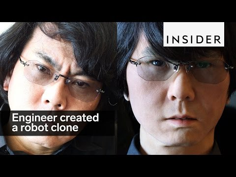 This engineer created a robot clone