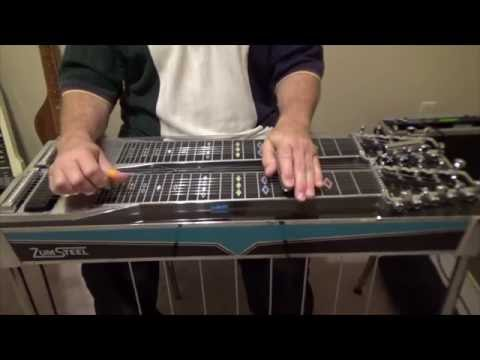 Farewell Party Intro and Turn Tutorial - Pedal Steel Guitar - Lloyd Green - Mike Johnson