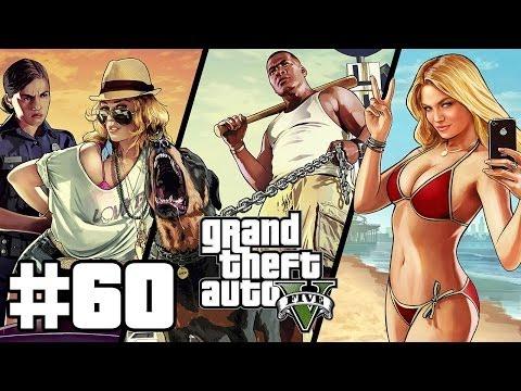 Grand Theft Auto V Végigjátszás w/ Süti 60. Rész - Maszkok