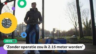 2019: Yannick (13) is nu 'maar' 1,99 meter