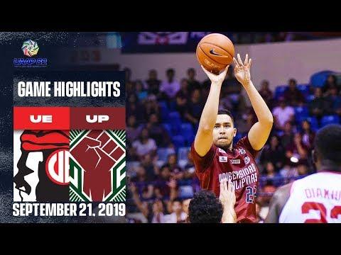 UE vs. UP - September 21, 2019    Game Highlights   UAAP 82 MB