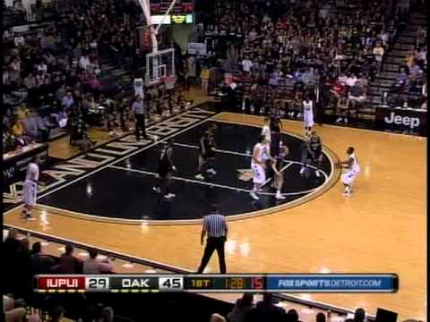 Oakland University vs. IUPUI basketball highlights