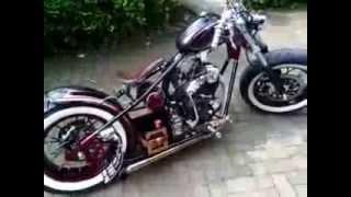El Bendhot Yamaha Scorpio Bobber