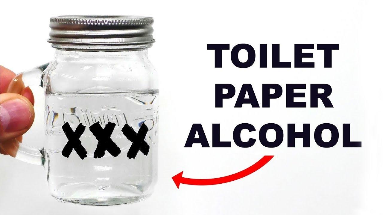Making Toilet Paper Moonshine