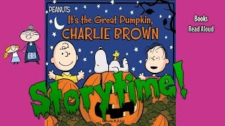 Halloween Stories IT'S THE GREAT PUMPKIN CHARLIE BROWN! Read Aloud ~  Bedtime Story Read Along Books