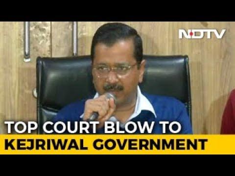 """""""Supreme Court Order Against Democracy"""": Arvind Kejriwal After Setback Mp3"""