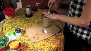 Tarragon Dressing Over A Mixed Masala Bowl