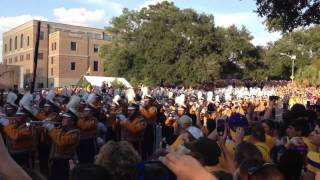 LSU Golden Band Pre-Game Song