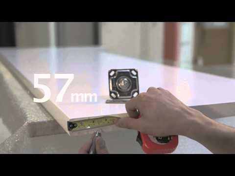 Marix Floor Closers木制枢轴门安装指南