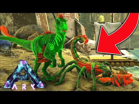 CHRISTMAS DINOSAURS!!! (ARK ABERATION EPISODE 12)
