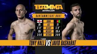 BAMMA London: Tony Hall vs Javid Basharat