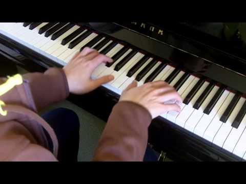 ABRSM Piano 2013-2014 Grade 3 A:1 A1 CPE Bach Allegro in G H.328 Slow Demo