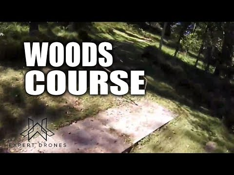 Woods Course Fun Time - Drone Racing and Freestyle - Expert Drones