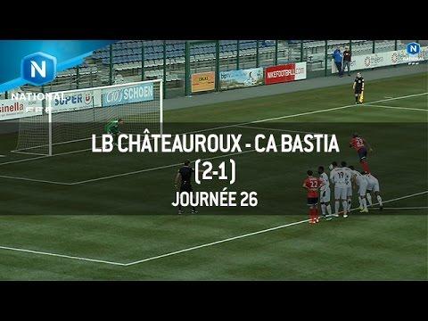 J26 : LB Châteauroux – CA Bastia (2-1), le résumé