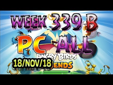 Angry Birds Friends Tournament All Levels Week 339-B PC Highscore POWER-UP walkthrough thumbnail