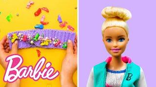 10 DIY DREAMCAMPER SLUMBER PARTY HACKS   5-Minute Crafts x Barbie   Barbie