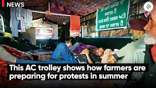 This AC trolley shows how farmers are preparing for protests in summer