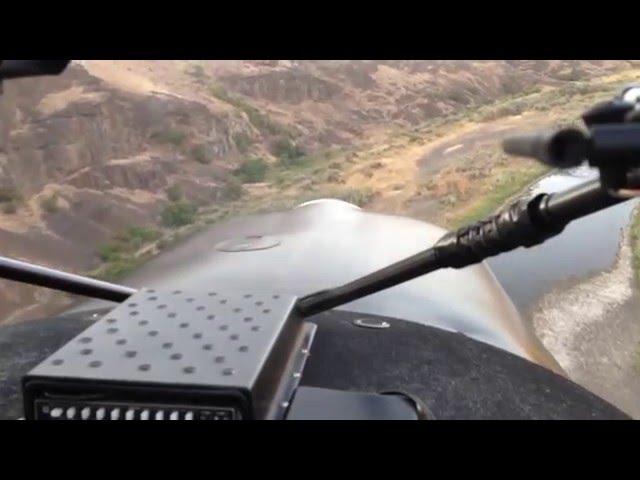 Backcountry Flying Maule, Chukar Flats August 2015