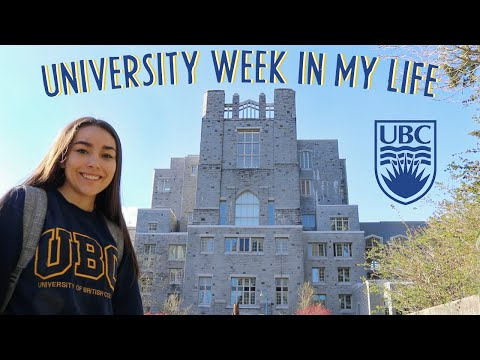 college week in my life || University of British Columbia (UBC)