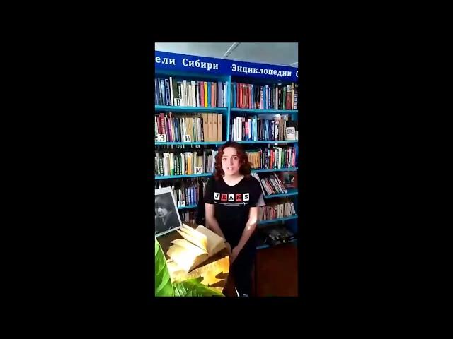 Изображение предпросмотра прочтения – ТатьянаМаслякова читает произведение «Мне нравится, что Вы больны не мной...» М.И.Цветаевой