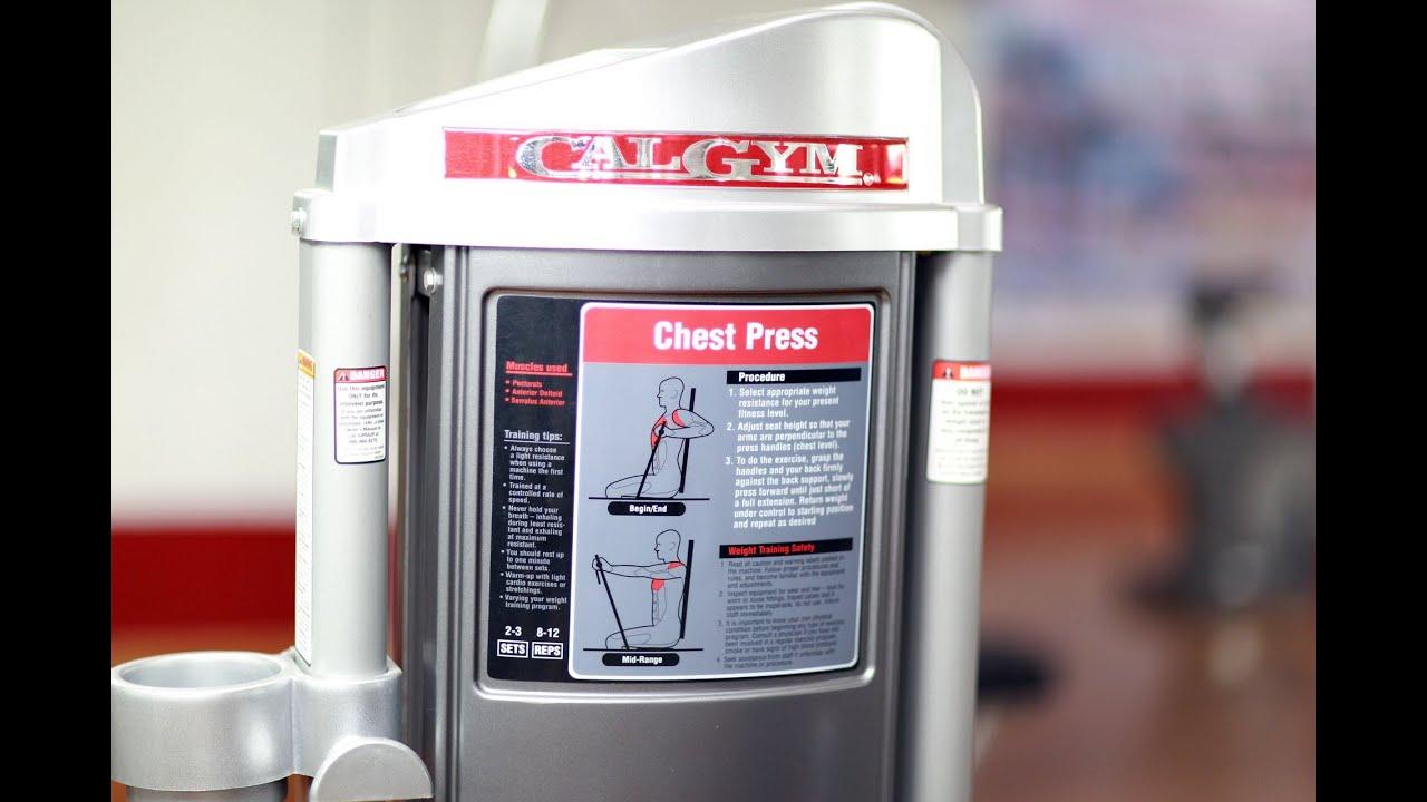 Chest Press Tập to Cơ Ngực nhanh đơn giản với máy