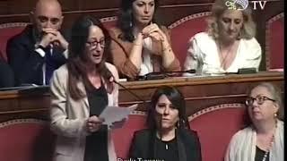 Paola Taverna (M5S) - Intervento in aula su fiducia Governo Conte 05/06/2018