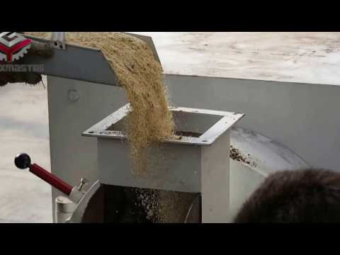 Poultry feed pellet processing machine